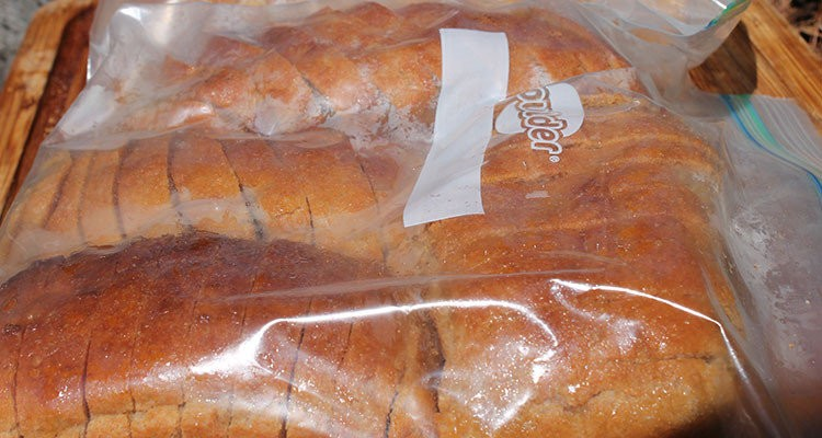 ekmek buzlukta saklanır mı