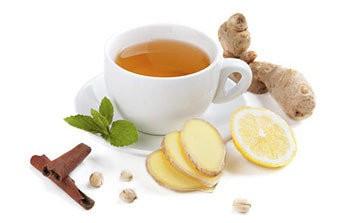 grip için çay