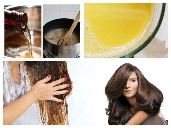 saç uzatan formüller, yağlar ve maskeler