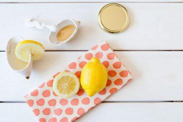 limon ile bal, yoğurt, karbonat maskesi, limonun faydaları